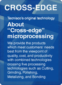 "About ""Cross-edge"" microprocessing"